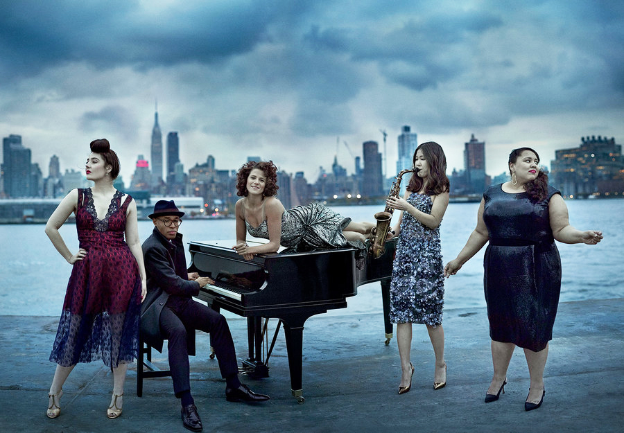 rising jazz stars tatiana eva marie cyrille aimée aaron diehl brianna thomas
