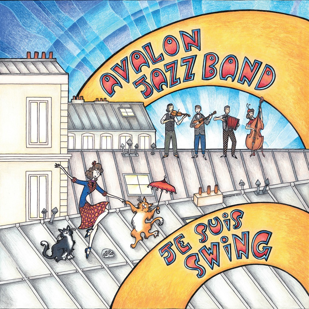 Avalon Jazz Band Artwork