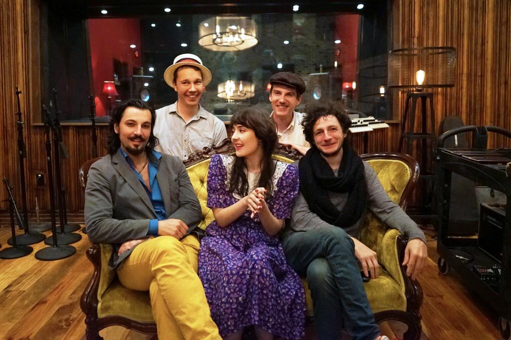 Tatiana and her Bushwick Boys